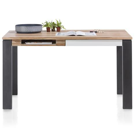 bureau 80 cm vista table bureau 140 x 80 cm 1 tiroir 1 niche