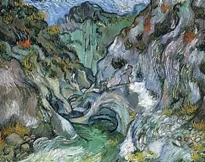 Ravine - Post Impressionist Vincent Van Gogh Art Wallpaper ...