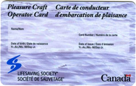 Boating License Restrictions by Lifesaving Society Boating