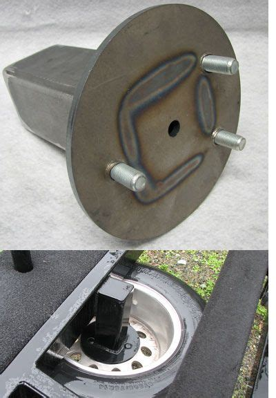Boat Trailer Tire Mount by Trailer Spare Tire Carrier Carriage Mount 00 Boat