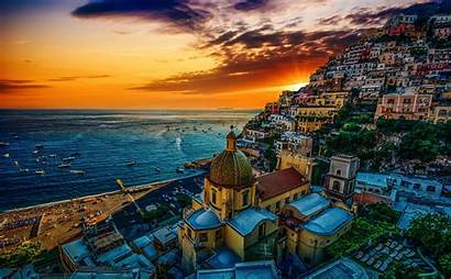 Positano Italy Amalfi Coast Visit Sunset Reasons