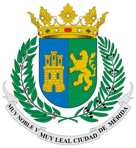 foto de File:Escudo de Merida Yucatan svg Wikimedia Commons