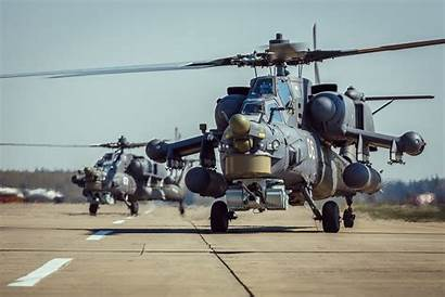 Mi 28 Helicopter Mil Airport Impact Air