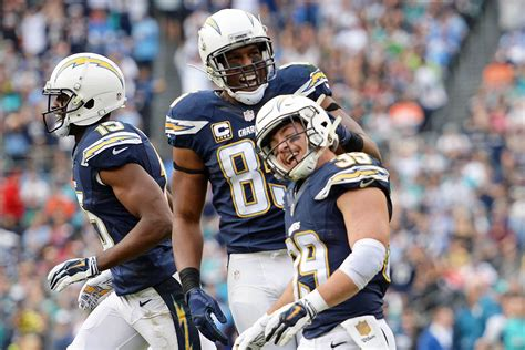 San Diego Chargers Win 30-14 Over The Miami