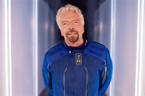 vilken tid lanseras virgin galactic och hur  jag titta pa richard bransons rymdfaerd