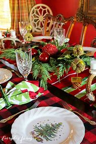 Christmas Tablescapes On Pinterest