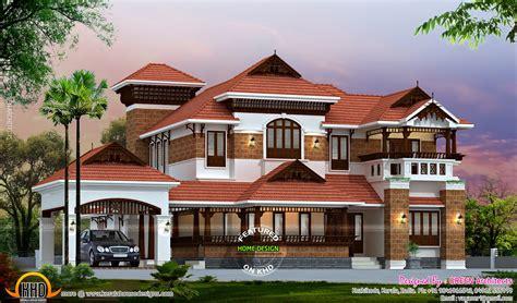 nalukettu traditional home kerala home design  floor plans