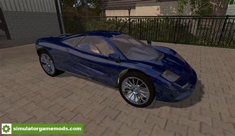 fs mclaren  super car mod  simulator games
