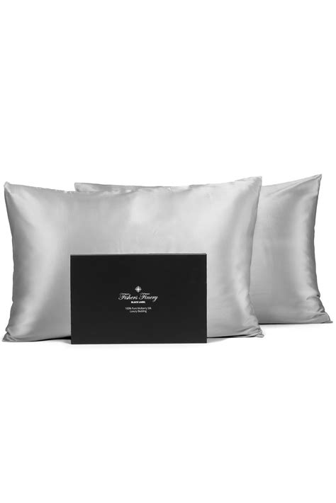 100% Pure Mulberry Silk Pillowcase - 30 Momme | Fishers Finery