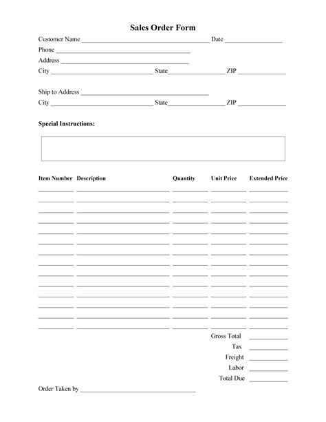 order form templates work order change order