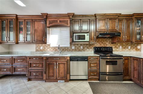 kitchen cabinets with glass contemporary kitchen with recessed panel cabinets 6470
