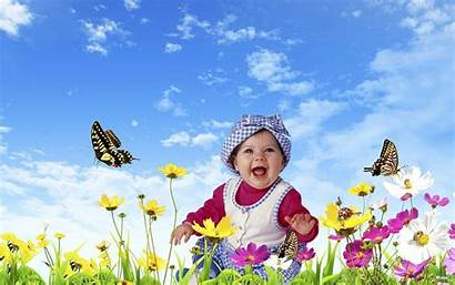 Nature Child Boy Wallpapers Background Forest Happy