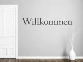 Wandtattoo Modernes Textbanner Willkommen Bei Homestickerde