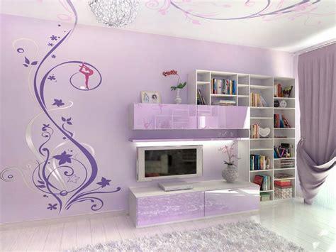 Lavender Bedrooms, Teen Girls Bedroom Wall Ideas Teen