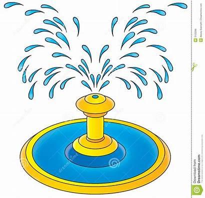 Fountain Clipart Water Splash Clip Pad Children