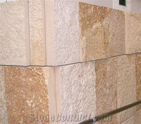 Marble Wall Cladding, Yellow Marble Wall from China