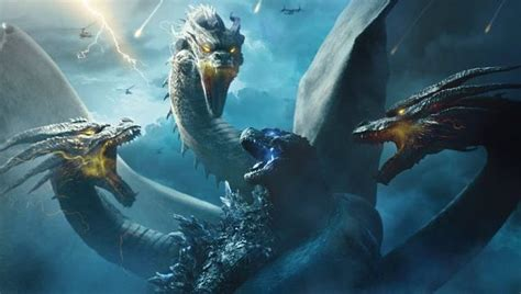 Ghidorah Takes On Godzilla In New King Of The Monsters Poster