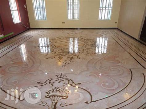 Meriekriss Interiors 3D Epoxy Floor Job In Ikeja GRA for