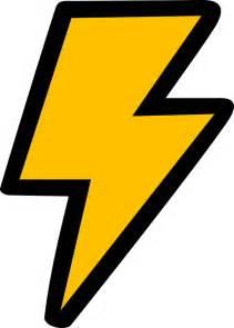 Cartoon Lightning Bolt