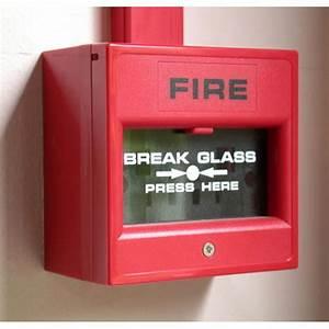 Fire Alarm Break Glass  Alarm Detection Systems  Fire