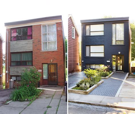 before and after exterior home makeovers 8 small homes get huge facelifts omg lifestyle blog