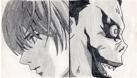 Light And Ryuk By Creton-boy On Deviantart