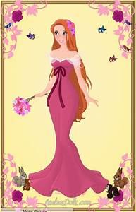Giselle Pink Dress by zozelini on deviantART