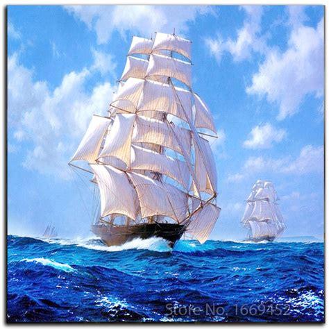 Sailboat At Sea by 5d Painting Sailboat At Sea Diy Pattern