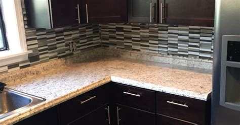 In Stock Laminate Countertops by Home Depot Stock Hton Bay Java Kitchen Cabinets With
