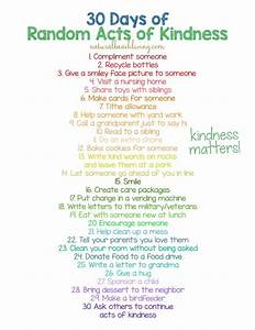 Random Acts of Kindness Ideas for Kids (Printable Lunch ...
