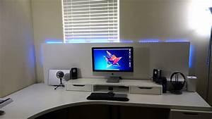 Ikea Schreibtisch Hack : custom ikea desk build youtube ~ Watch28wear.com Haus und Dekorationen