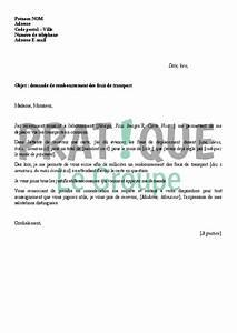 Remboursement Assurance Emprunteur Lettre Type : lettre de demande de remboursement des frais de transport ~ Gottalentnigeria.com Avis de Voitures