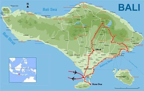 map  bali tours exotic bali  optional singapore