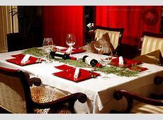 Traditional Christmas Table Settings Home Design