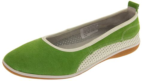 womens suede leather coolers shoes ladies flat ballerina