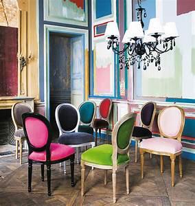 Chaise Velours Design : t as de belles chaises tu sais lorraine magazine ~ Teatrodelosmanantiales.com Idées de Décoration
