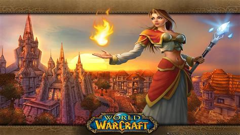 world  warcraft girl wallpapers wallpapers hd