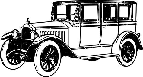 Vintage Car Clipart