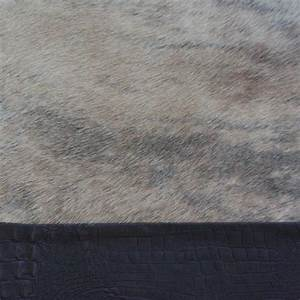 q2 tapis peau de vache avec bordure cuir kurth ambientedirectcom With tapis peau de vache avec canape 2 3 cuir