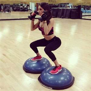 Bosu Ball Squats. Work out plan I want to try | fitness ...