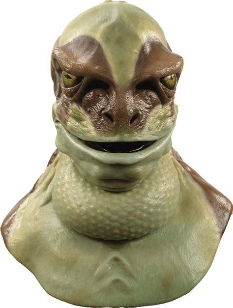 jeremiah  bullfrog silicone mask frog costume mask