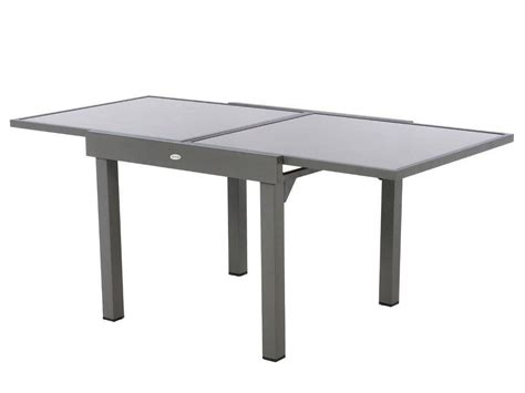 table de jardin hesp 233 ride extensible piazza 4 8 places jardideco