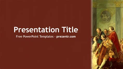 Baroque Powerpoint Template Free free baroque powerpoint template prezentr powerpoint