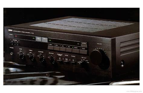 yamaha   manual stereo integrated amplifier hifi