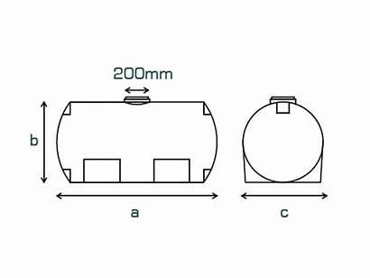 Diesel Tanks Horizontal Mm Ntg Connector Capacity