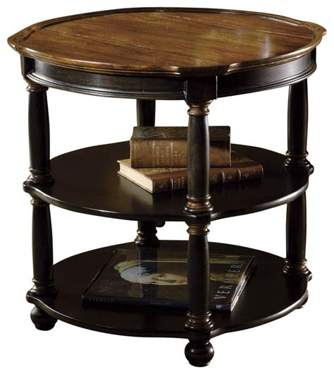 tuscan estates  library table contemporary side