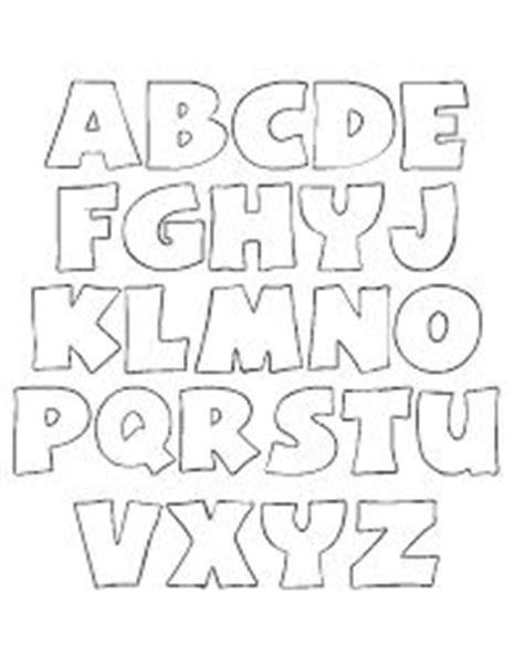 moldes para todo abecedarios divertidos abecedarios