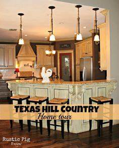 Hill country homes on pinterest country homes country for Kitchen cabinets lowes with texas hill country wall art