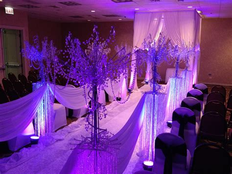 Rent Wedding Ceremony Stage Decor Backdrops Lighting