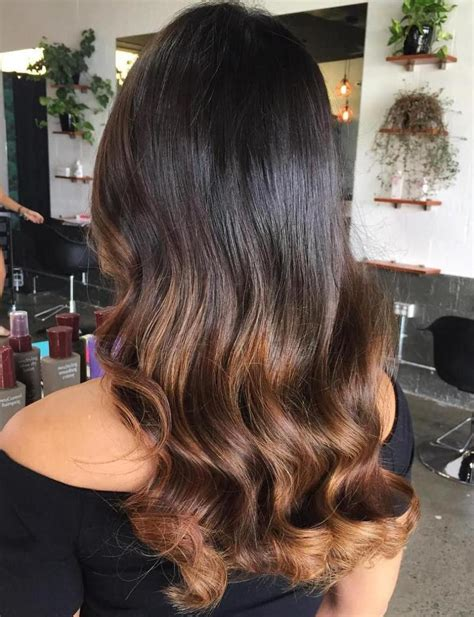Black Hair With Brown Tips by 60 Best Ombre Hair Color Ideas For Blond Brown And